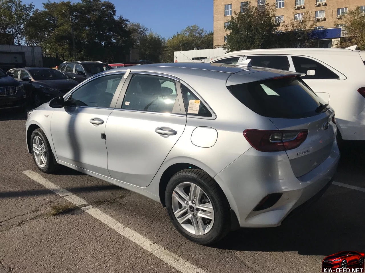 ceed cd 3 Sparkling Silver (KCS)