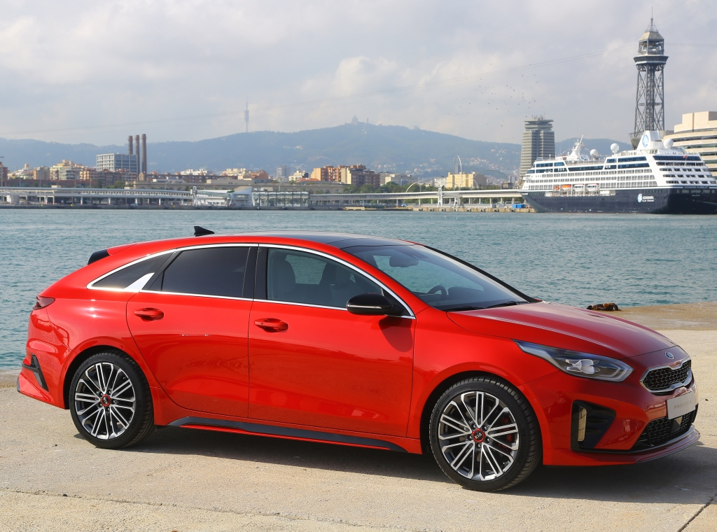 KIA PROCEED 3 CD