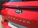 задняя дверь KIA ProCeed CD 2019 (shooting brake, лифтбек)