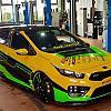 yellow-green KIA CEED 2 (JD)
