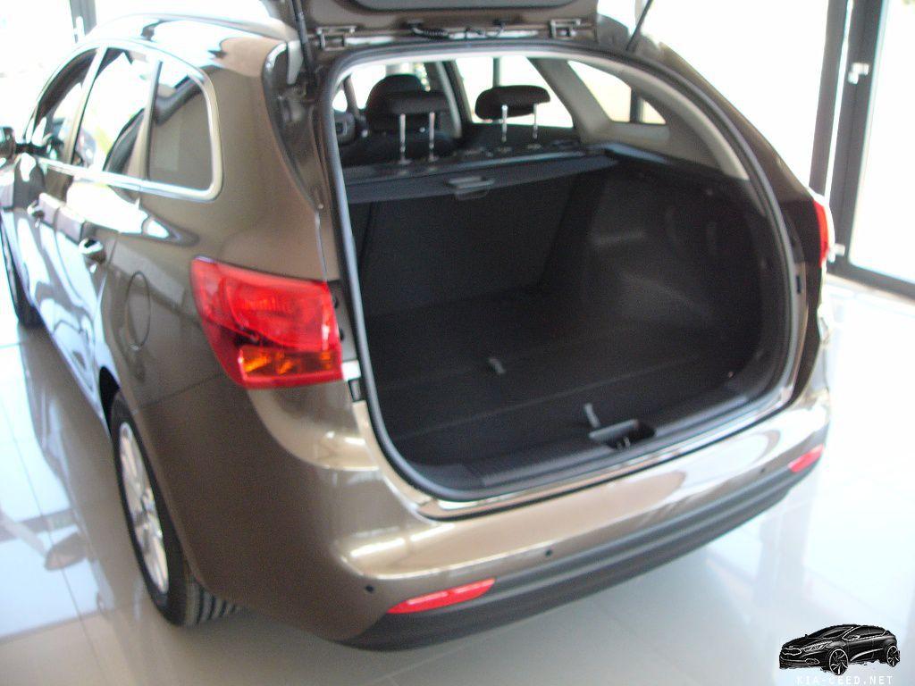 багажник KIA CEED универсал 2016 модельного года