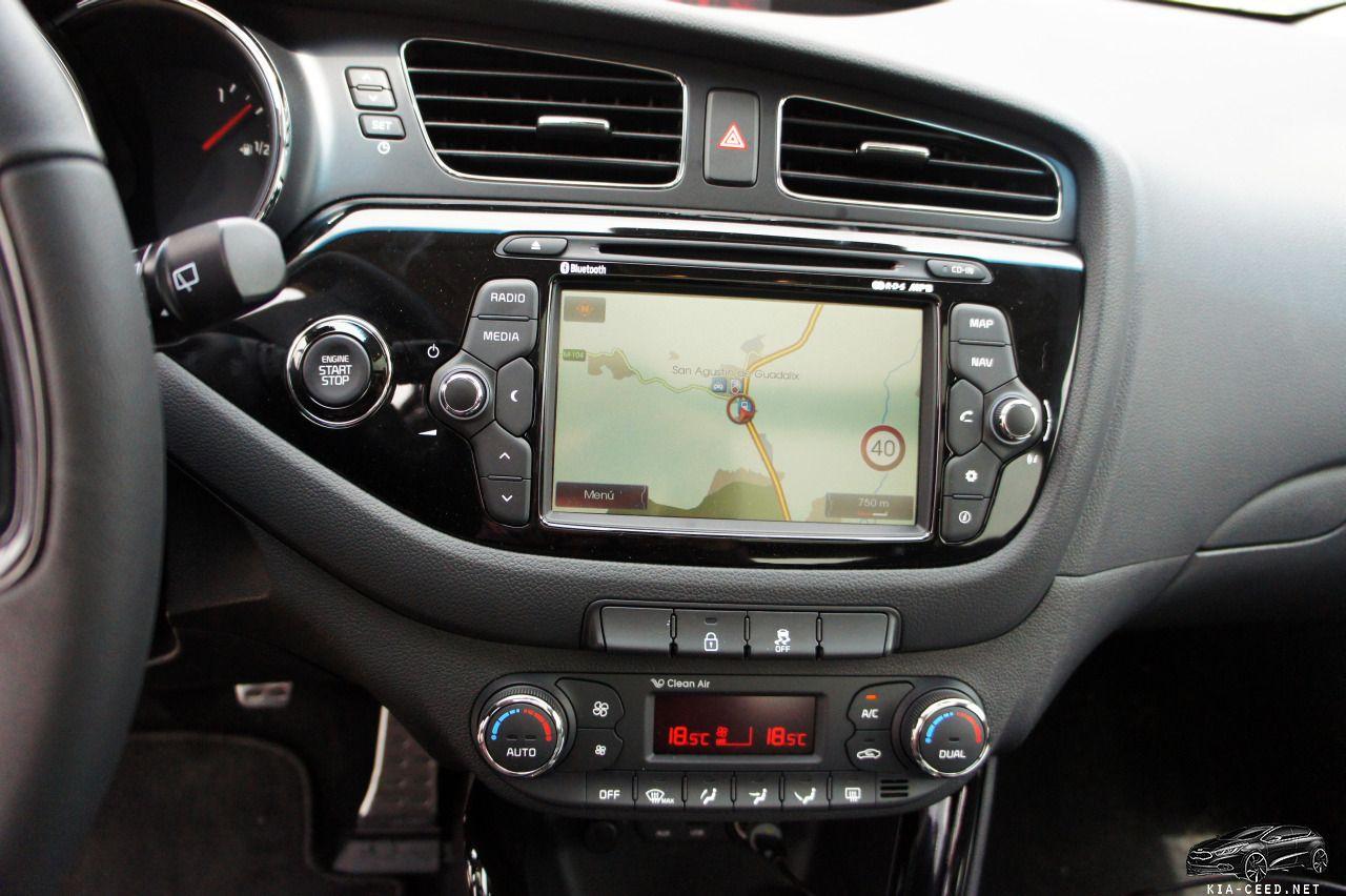 новый kia ceed навигатор