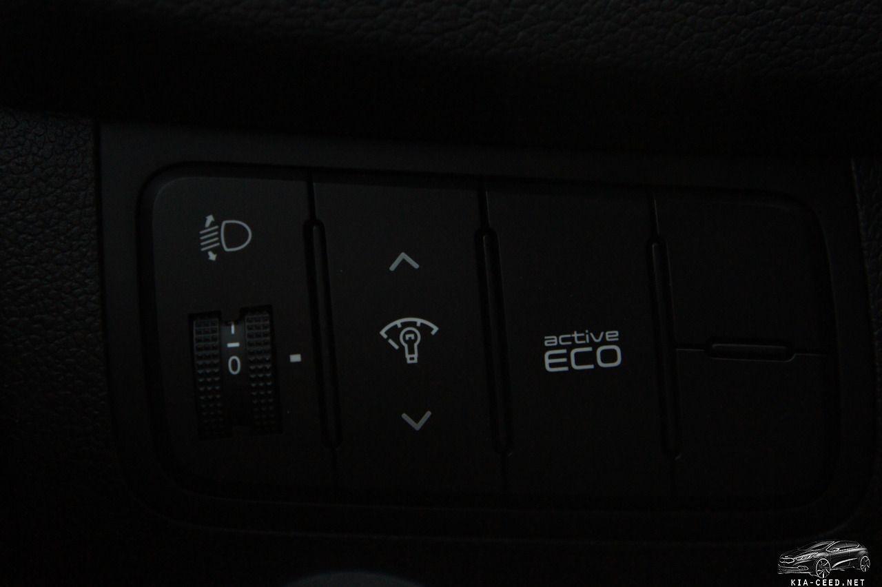 новый kia ceed панель управление by ProC in Kia Ceed JD (2) интерьер