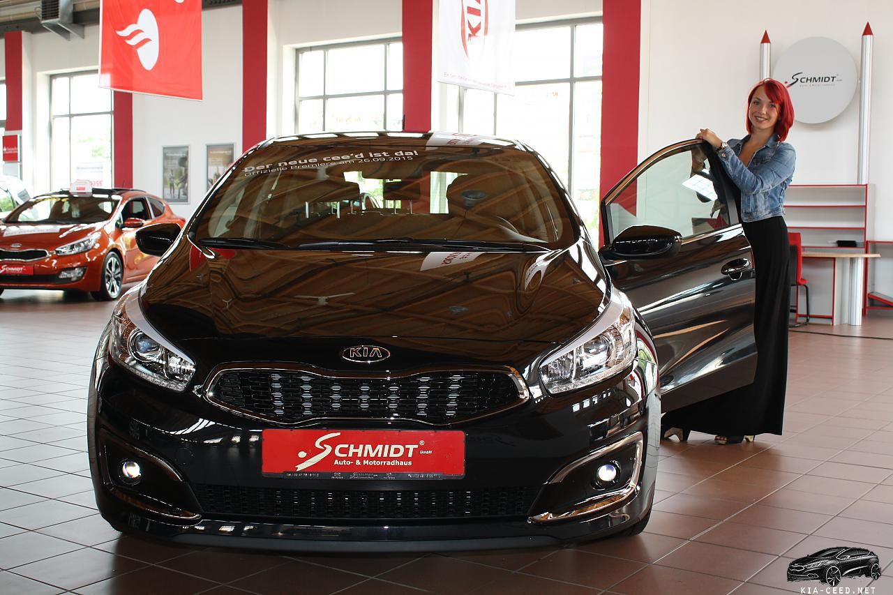 Facelifting Ceed 2016 black - front