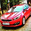 KIA CEE'D JD 2016 Track Red Front